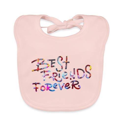 best friends - Ekologisk babyhaklapp