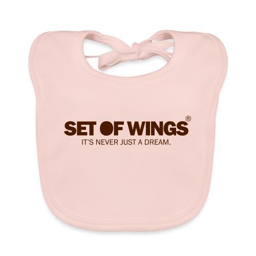 SETOFWINGS_logo - Baby Organic Bib