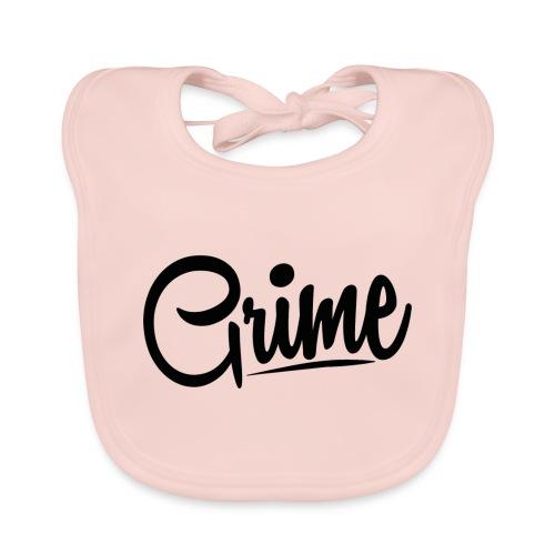 Grime Apparel Basic Grey Hoodie. - Baby Organic Bib