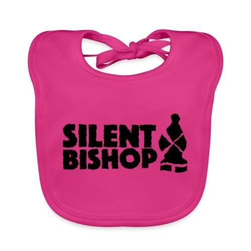 Silent Bishop Logo Groot - Bio-slabbetje voor baby's