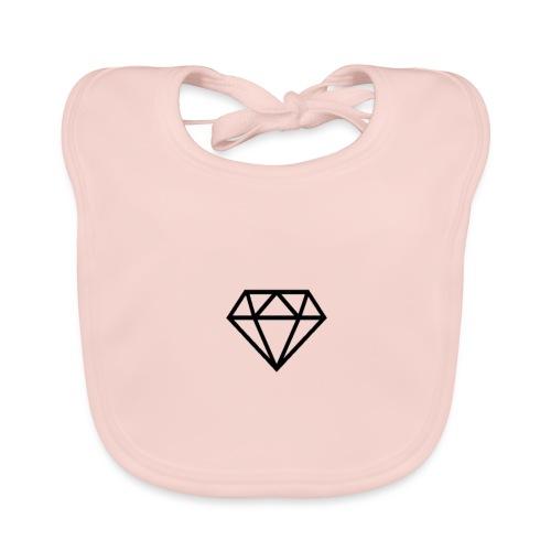 black diamond logo - Organic Baby Bibs