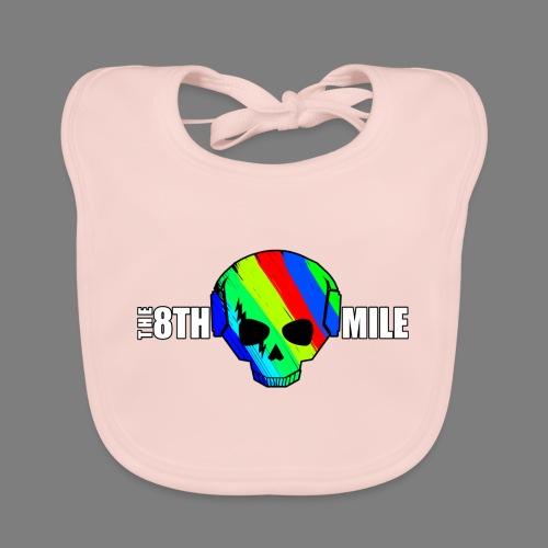 Colorful Skull Logo - Baby Organic Bib