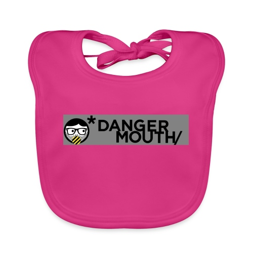 Danger-Mouth-Cases - Baby Organic Bib