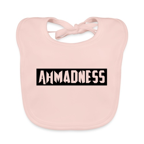 AhMADNESS Design T-Shirt - Baby Organic Bib