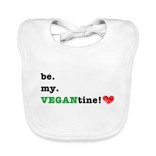 VEGANtine Green - Baby Organic Bib