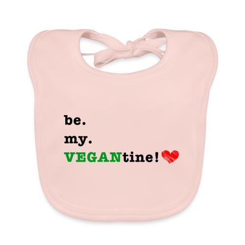 VEGANtine Green - Organic Baby Bibs