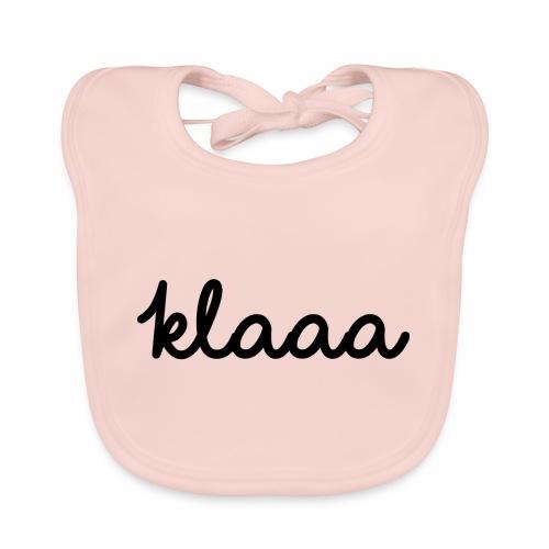 Klaaa - T-Shirt - Baby Bio-Lätzchen