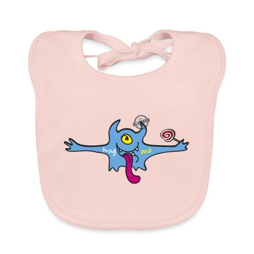 Hug me Monsters - Every little monster needs a hug - Baby Organic Bib