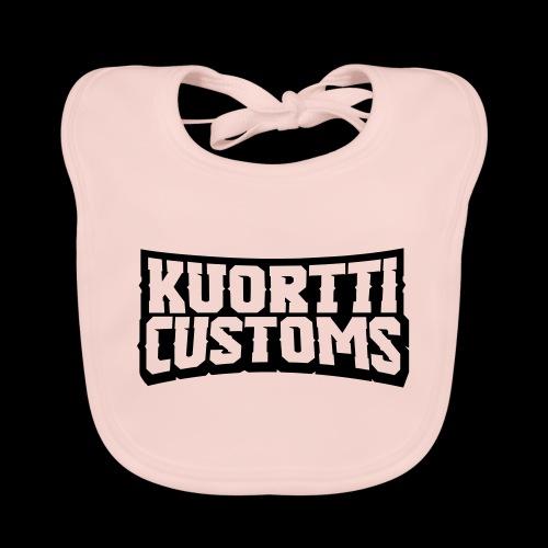 kuortti_customs_logo_main - Vauvan ruokalappu