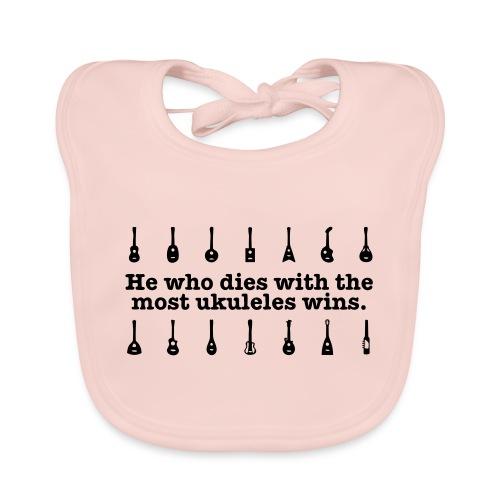 ukulele_wins - Baby Organic Bib
