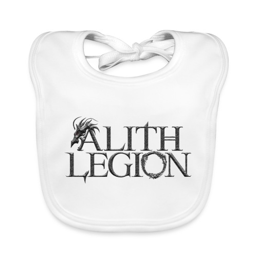 Alith Legion Dragon Logo - Baby Organic Bib