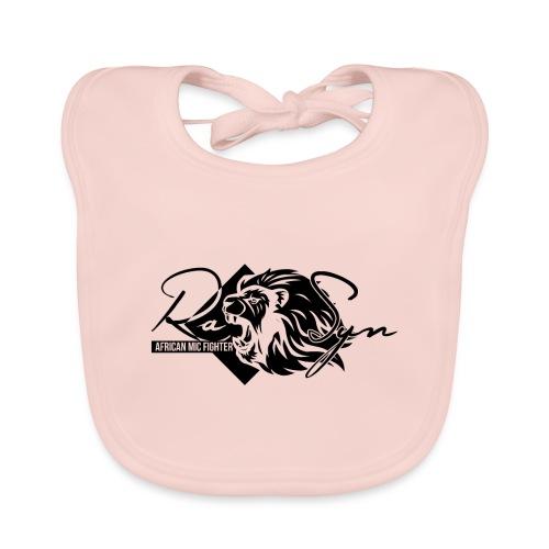 RaSyn Lion Black n White ® - Baby Bio-Lätzchen
