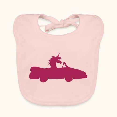 Cadeau de permis de conduire drôle de voiture de la Licorne convertible - Bavoir bio Bébé
