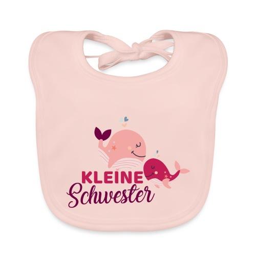 Wale - kleine Schwester - Baby Bio-Lätzchen