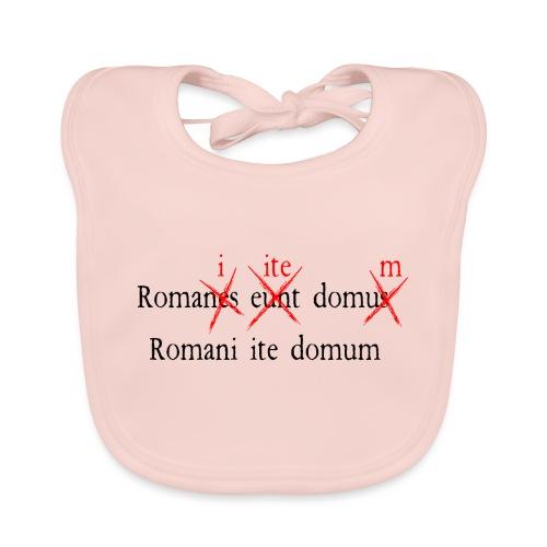 Romans Go Home - Baby Organic Bib