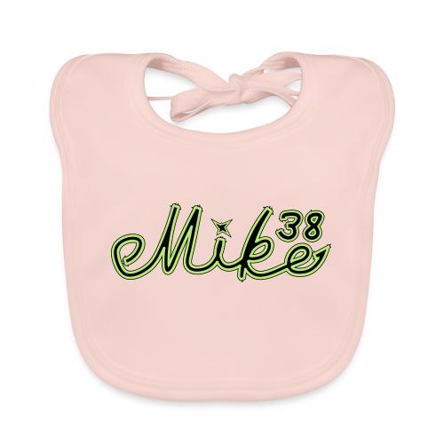 mike38teksti - Vauvan luomuruokalappu