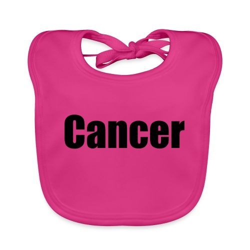Cancer. - Baby Organic Bib