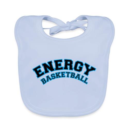 baby energy basketball logo nero - Bavaglino