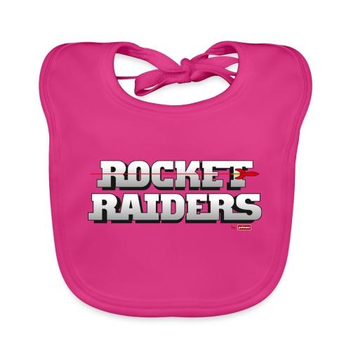 patame Rocket Raiders Logo - Baby Bio-Lätzchen