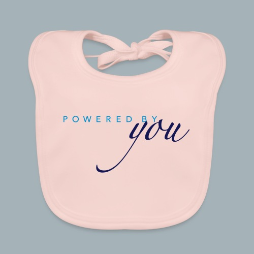 Powered By You Basketbal Shirt - Bio-slabbetje voor baby's