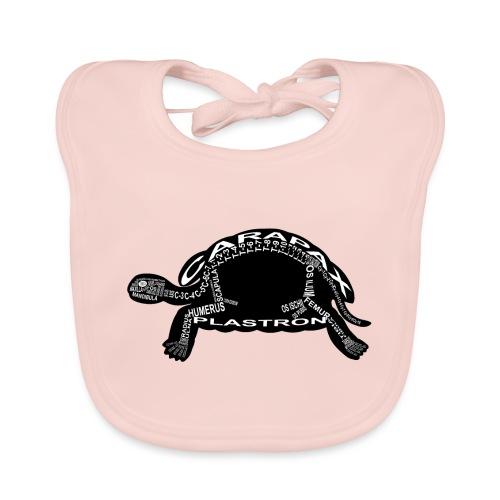 Schildkröte - Bio-slabbetje voor baby's
