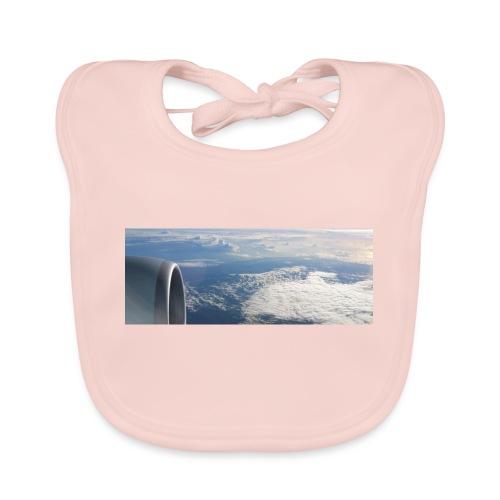 Flugzeug Himmel Wolken Australien - Baby Bio-Lätzchen