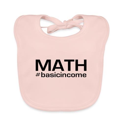 math-black - Bio-slabbetje voor baby's