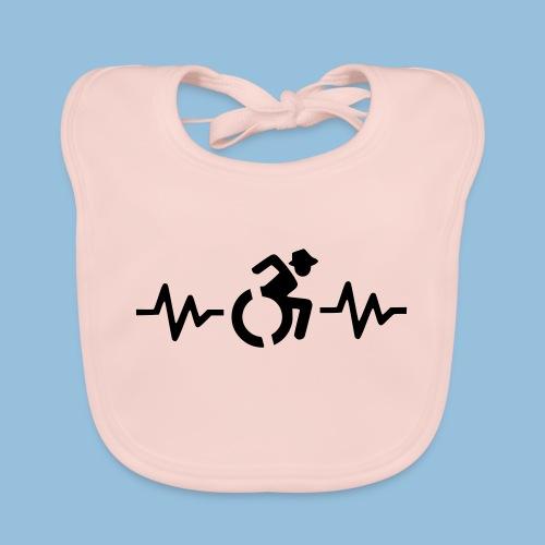 Wheelchairheartbeat1 - Bio-slabbetje voor baby's