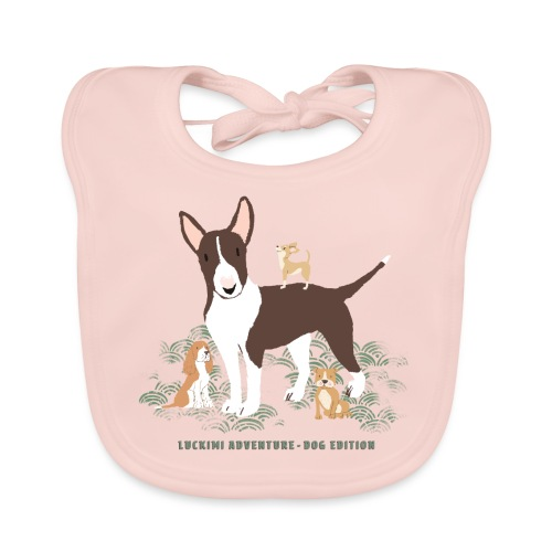 Dog edition Children - Baby Organic Bib
