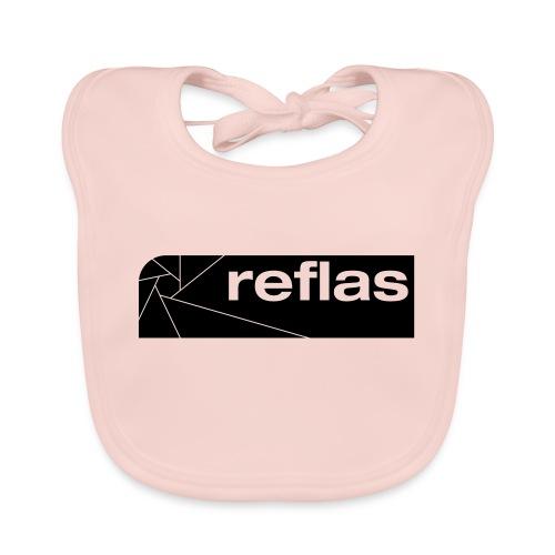 Reflas Clothing Black/Gray - Bavaglino ecologico per neonato