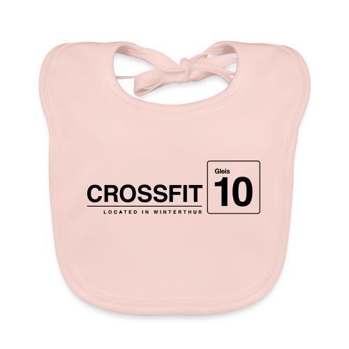 CrossFit_Gleis_10_Logo_1_Black - Baby Bio-Lätzchen