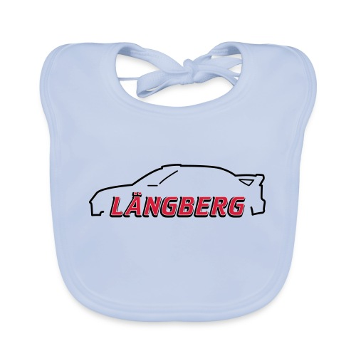 logotype Laengberg - Ekologisk babyhaklapp