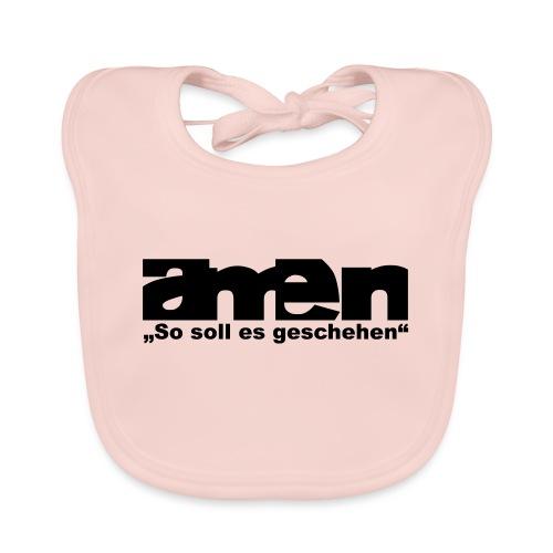 amen - Baby Bio-Lätzchen