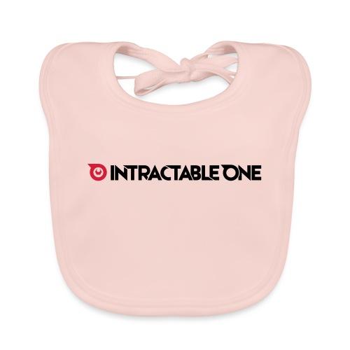 Intractable one logo - Bio-slabbetje voor baby's