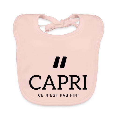 Capri ce n'est pas bien - Bavoir bio Bébé