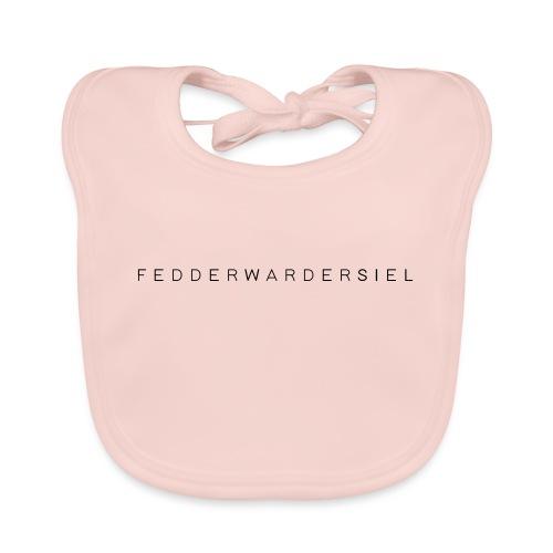 Fedderwardersiel Schrift - Baby Bio-Lätzchen