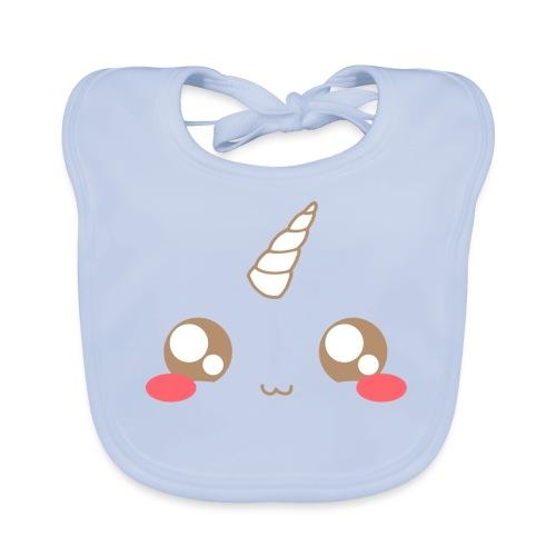 Kawaii_T-unicorn_EnChanta - Organic Baby Bibs