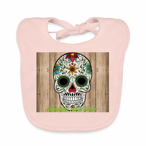 DSW Skull - Ekologisk babyhaklapp