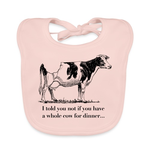 whole cow - Baby Organic Bib