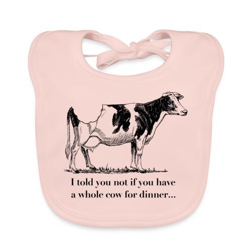 whole cow - Organic Baby Bibs