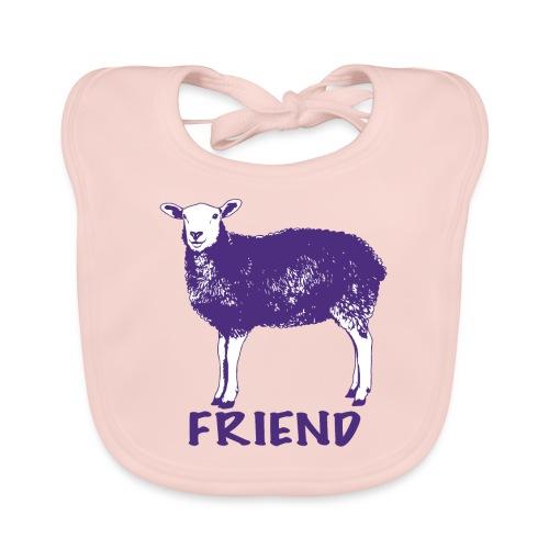 kids merch sheep Marion - Organic Baby Bibs