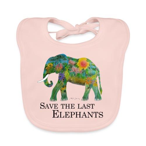 Save The Last Elephants - Baby Bio-Lätzchen