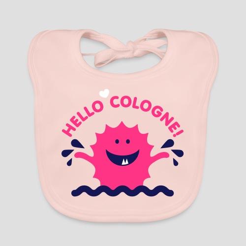 Rhein Monster Hello Cologne - Baby Bio-Lätzchen