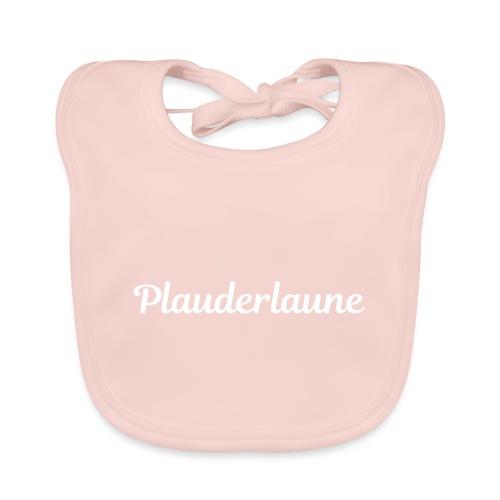 Plauderlaune White Edition - Baby Bio-Lätzchen