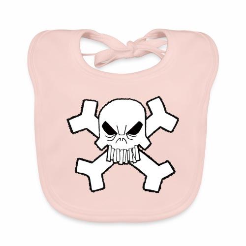 Craneo - Babero de algodón orgánico para bebés
