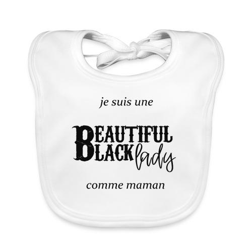 comme maman black - Bavoir bio Bébé