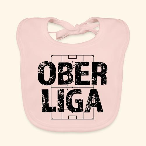 OBERLIGA im Fußballfeld - Baby Bio-Lätzchen