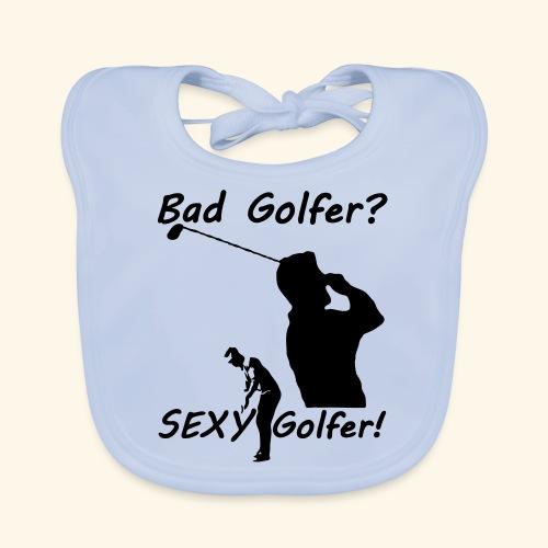 Sexy Golfer - Baby Organic Bib