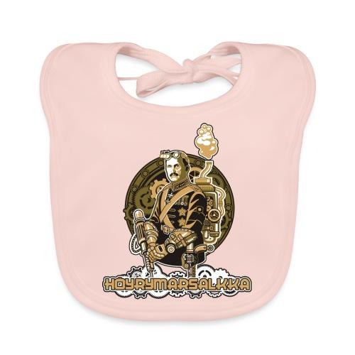 Höyrymarsalkan upea naisten T-paita - Vauvan luomuruokalappu