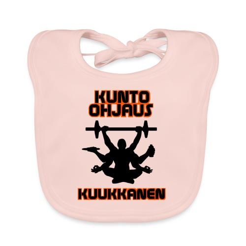 Kunto-ohjaus Kuukkanen Logo - Vauvan ruokalappu